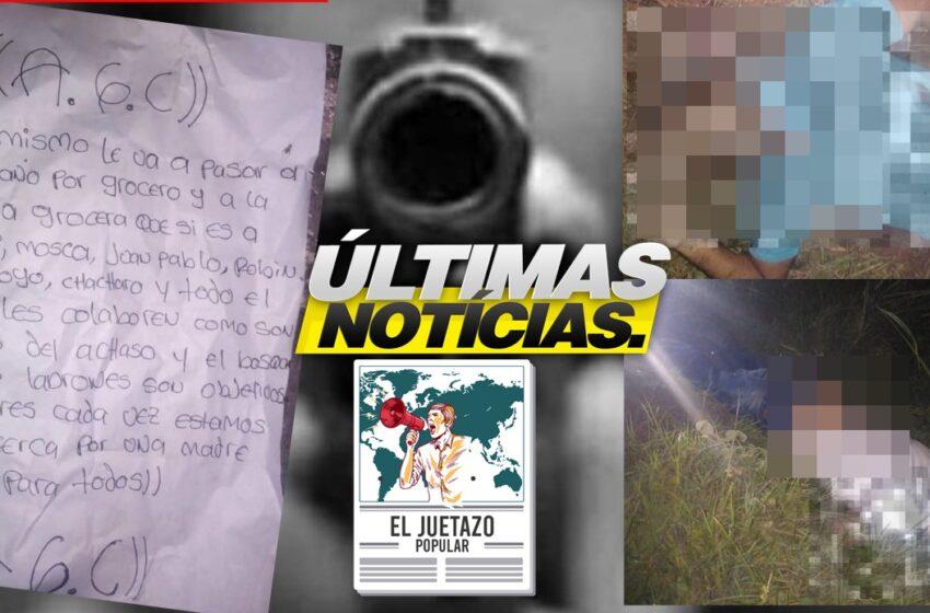 #AEstaHora   Declaraciones sobre los hechos ocurridos en el municipio de San Pablo – Sur de Bolívar.