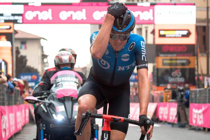 Ben O'Connor, se impuso en la etapa 17 del Giro de Italia
