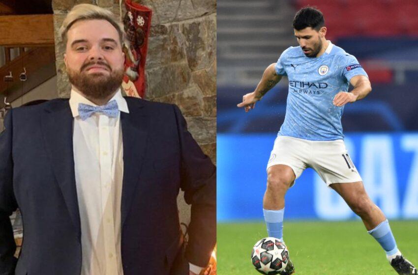 Ibai Llanos habría revelado por accidente el futuro futbolístico de Sergio 'Kun' Agüero