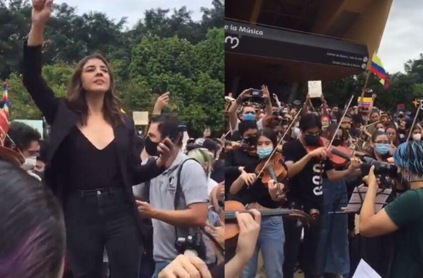 Civismo y cultura: así es la cara amable de las protestas por el paro nacional en Colombia