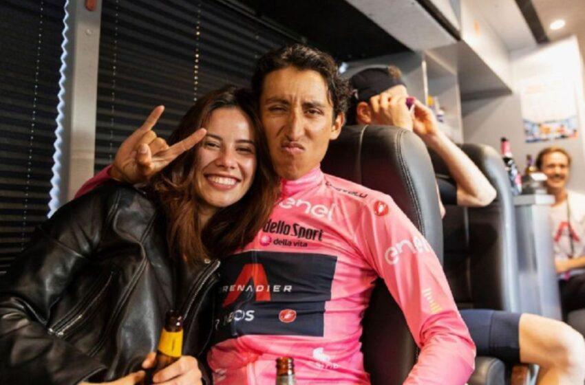 Egan Bernal y su novia dieron positivo para COVID-19