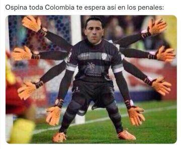 «Entonces morí, pero sobreviví», los mejores memes de la derrota de Colombia frente a Argentina.