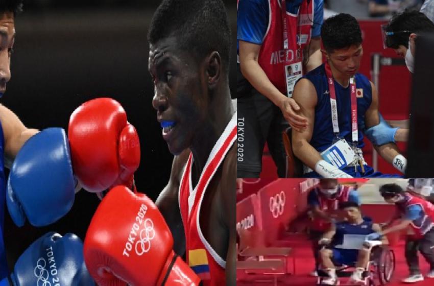 «Me siento robado»: Yuberjen Martínez tachó de injustos a los jueces de los Juegos Olímpicos
