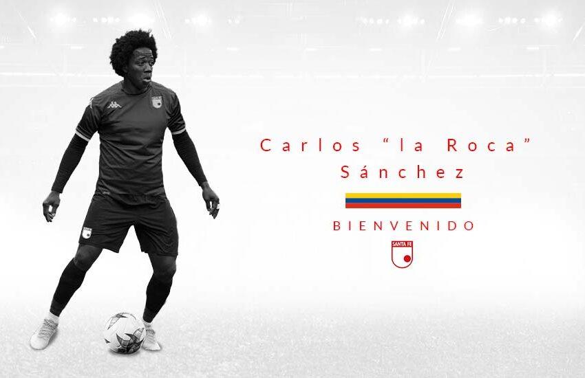 ¡'La Roca' cayó en Bogotá! Carlos Sánchez es nuevo jugador de Independiente Santa Fe