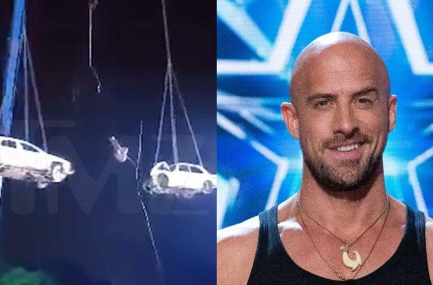 VIDEO: Terrible accidente de participante de 'America's Got Talent' intentando delicado truco